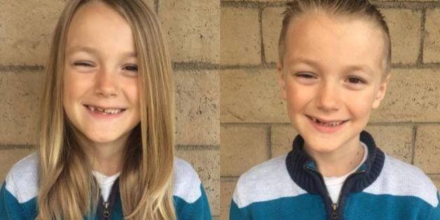 Este garotinho deixou o cabelo crescer para doá-lo a crianças com câncer - e teve uma surpresa