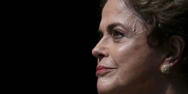 Brazil's President Dilma Rousseff attends the opening of the National Conference of Women, in Brasilia,...