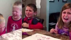 ASSISTA: Em pegadinha, pais mentem que comeram doces dos
