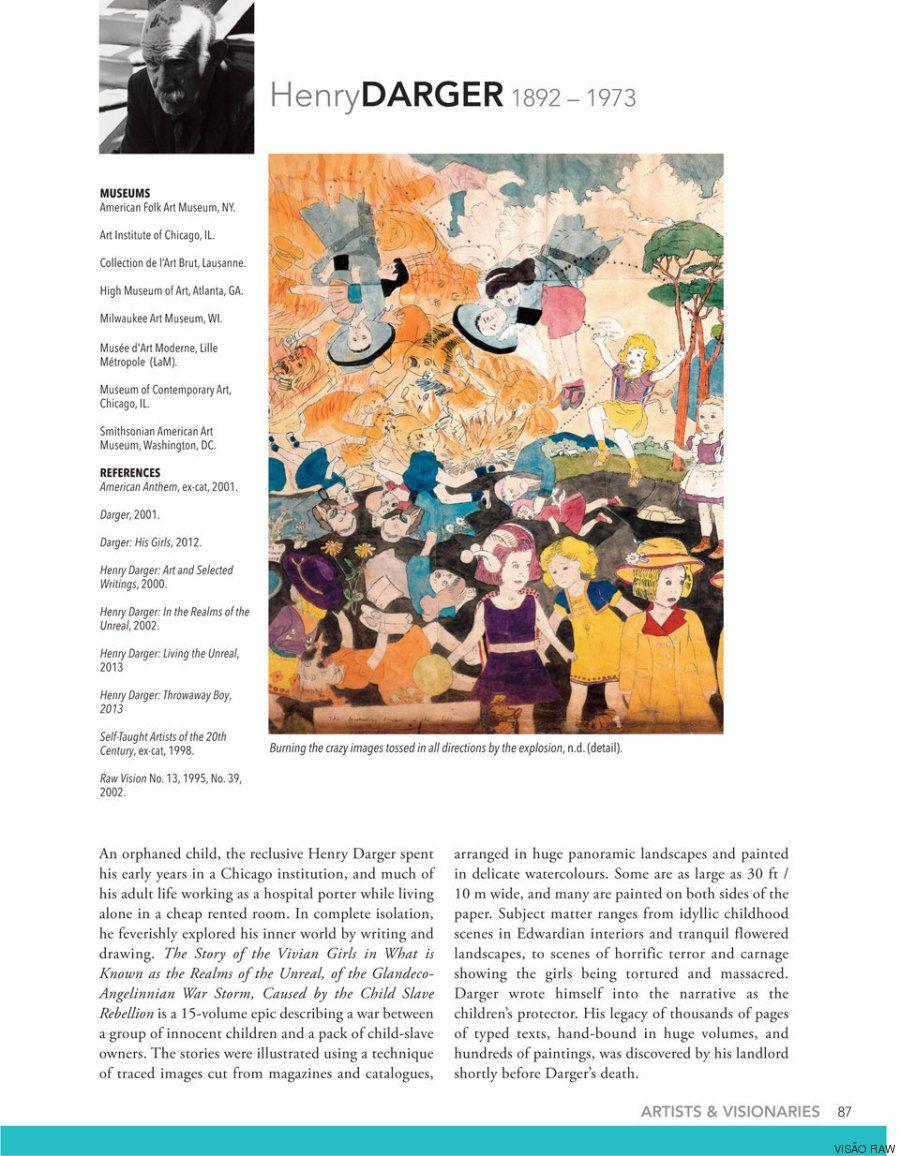 A revista de arte outsider que enxerga todos como