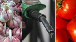 'Vilões' da inflação? Veja 10 produtos que estão BEM mais caros em