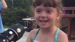ASSISTA: Com ajuda da família, esta garotinha verá MUITA coisa antes de perder a