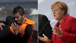 Angela Merkel: Crise de refugiados fica mais grave com 'pensamento