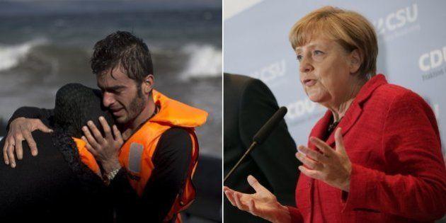Merkel: crise imigratória só será resolvida com proteção conjunta das