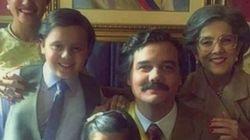 Está com saudade de 'Narcos'? Aqui está uma foto épica de Pablo Escobar do lado da