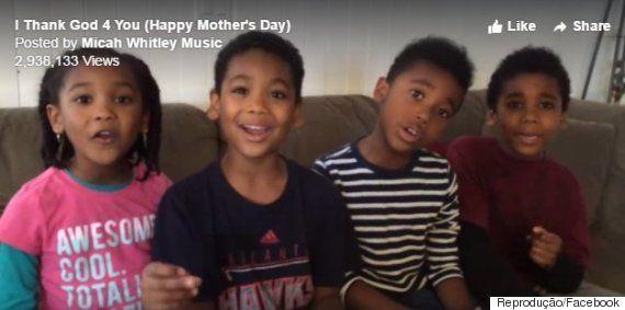 Estes irmãos fizeram uma homenagem para o Dia das Mães que vai fazer você abrir um sorriso no rosto