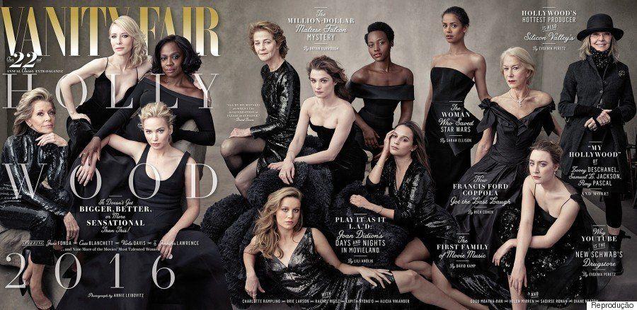 Capa de edição especial da Vanity Fair tem apenas