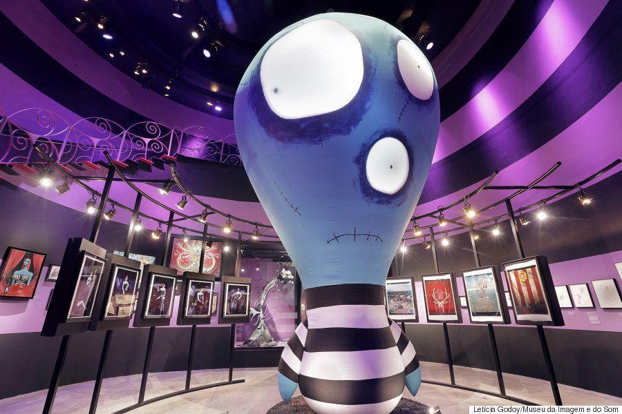 'O Mundo de Tim Burton', exposição macabra do diretor no MIS, vai fazer os olhos dos fãs
