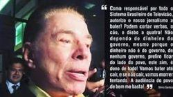 É BOATO! Silvio Santos NÃO mandou SBT bater no governo até Dilma