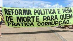 ESTUDO: Dados mostram que, para brasileiros, 'corruptos são os
