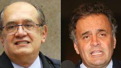 Gilmar Mendes manda abrir inquérito para investigar Aécio Neves após delação sobre