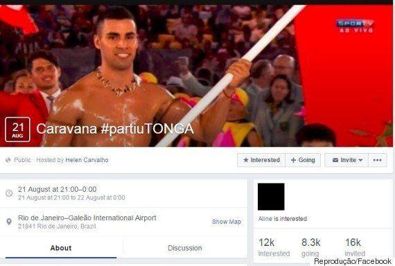 'Muso' da Abertura da Rio 2016, porta-bandeira de Tonga agradece repercussão: 'Foi divertido e mais brilhante...