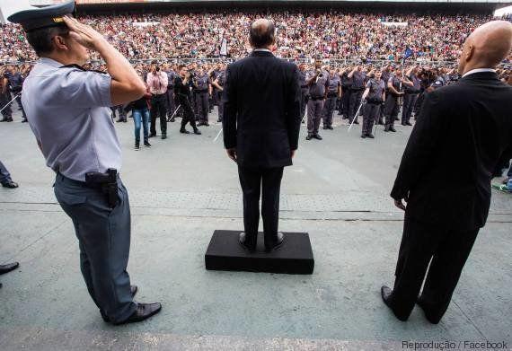 Última ação de ministro da Justiça e Cidadania como secretário de Alckmin foi posse de 2,8 mil novos...