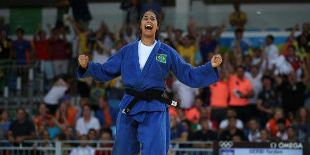2016 Rio Olympics - Judo - Quarterfinal - Women -63 kg Quarterfinals - Carioca Arena 2 - Rio de Janeiro,...