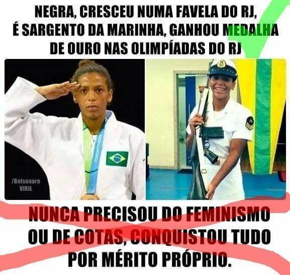 O mérito de Rafaela Silva e o chorume dos