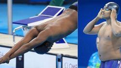 Acima do peso, nadador etíope fica em último e é...