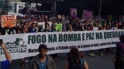 Milhares fazem 'maconhaço' na Av. Paulista pela