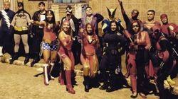FOTOS: Tem Carnaval para nerds, sim! Bloco de Olinda inspirado em HQs prova