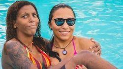 Sorte no jogo e... SORTE no amor: Rafaela e Thamara são um casal inspirador