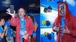 Mascarado! Astro do MIS-SP neste mês, Tim Burton se aventura no Carnaval do