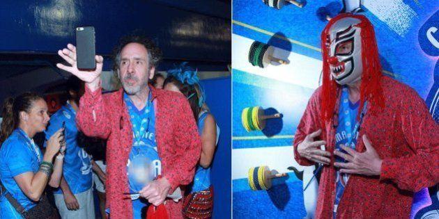 Cineasta homenageado pelo MIS neste mês, Tim Burton se aventura no Carnaval do Rio de