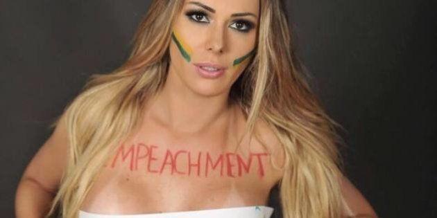 Musa do Impeachment planeja 'surfar na fama' e ser eleita vereadora nas próximas eleições em