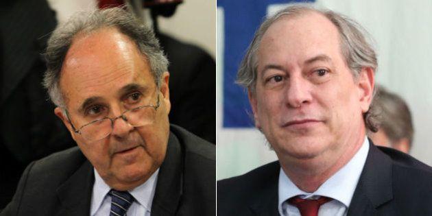 Ciro Gomes e Cristovam Buarque disputam pelo PDT candidatura a presidente em