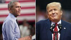 Obama critica populismo de Trump: 'Na política, como na vida, a ignorância não é uma