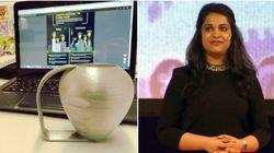 Designer indiana cria xícara especial para pessoas com
