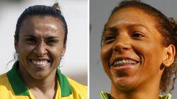 Rafaela supera Neymar na web. Seleção feminina bate masculina na TV. A Rio 2016 é