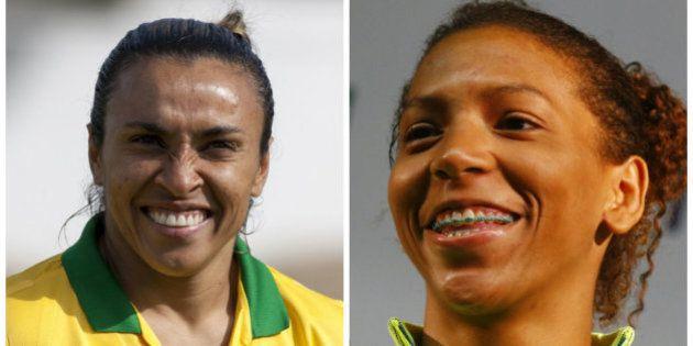 A Rio 2016 é delas: Menções à Rafaela superam Neymar na web. Seleção feminina é mais vista que masculina...