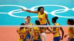 Essas meninas BRILHAM! Brasil destrói Japão em vôlei
