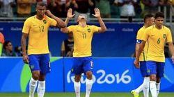 Antes tarde do que nunca: Brasil vence e segue vivo no futebol