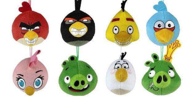 Angry Birds de pelúcia são os novos brindes do McLanche