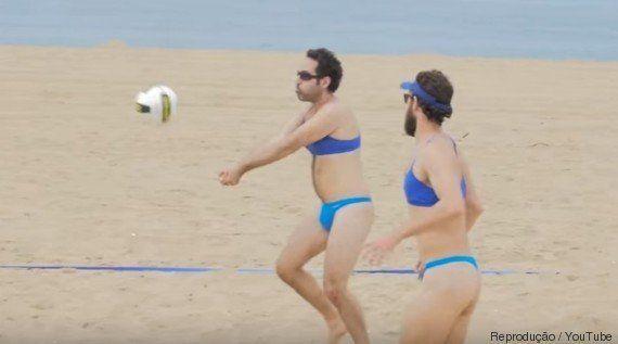 E se fossem os homens? Viral debate o uso de fio dental pelas atletas do vôlei de