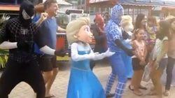 ASSISTA: Elsa, de 'Frozen', dançando 'Metralhadora' vai melhorar o seu
