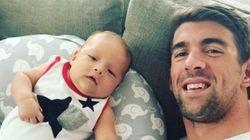 Bebê real Olímpico: Estamos APAIXONADOS pelo filho de Michael