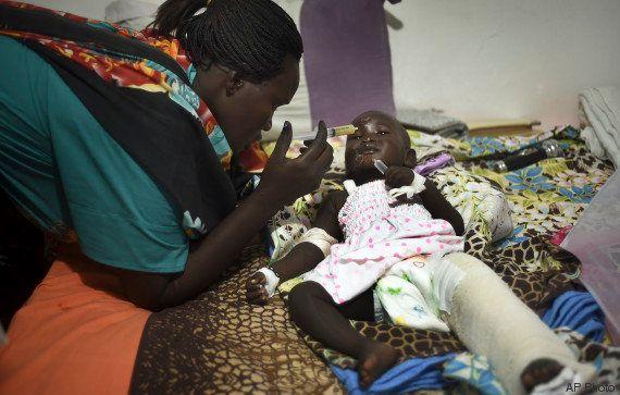Menina de 1 ano e um mês sobrevive a acidente aéreo no Sudão do