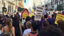 Feminismo toma as ruas de Madri: 'Chega de mortes por sermos