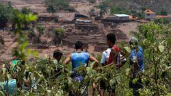 Sobe para 25 número de desaparecidos após rompimento de barragens em