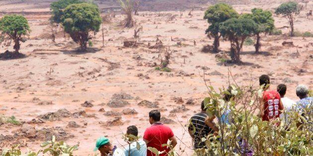 Quando o rio mudou de curso: uma cidade inundada por lama da