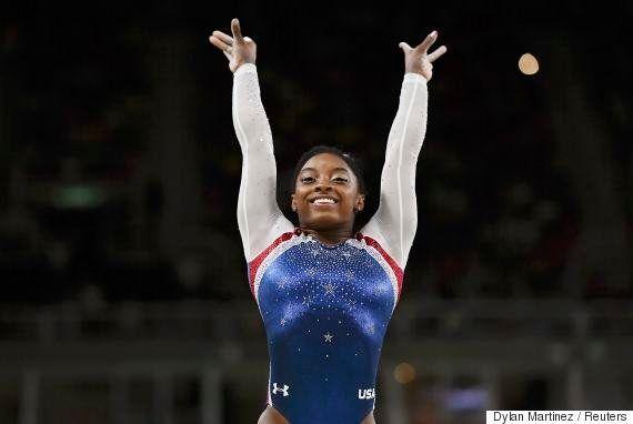 #ElasNaRio2016: Conforme esperado, Simone Biles é ouro em final de ginástica