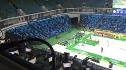 Rio tem ameaça de bomba, epartida de basquete começa com estádio