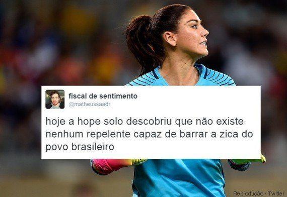 Suécia vence EUA nos pênaltis e Hope Solo dá adeus à Rio 2016. Internet