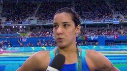 Joanna Maranhão denuncia ataques e diz: 'Não guardo rancor porque só faria mal a