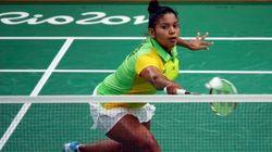 Ela é filha de ex-chefe do tráfico e a 1ª brasileira a jogar badminton em