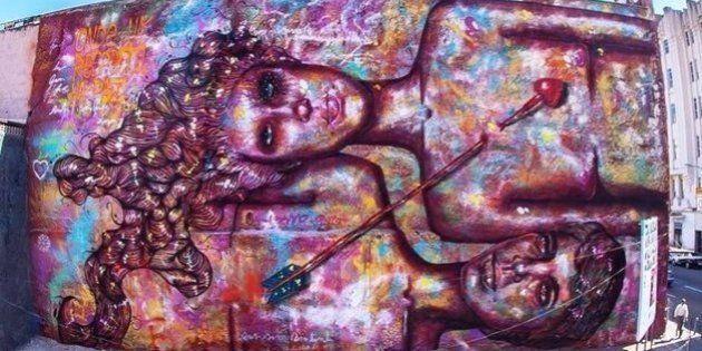 Como uma grafiteira brasileira está empoderando as mulheres do mundo