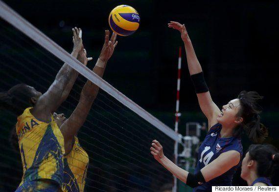#ElasNaRio2016: Brasil vence Coreia do Sul por 3 sets a 0 em vôlei