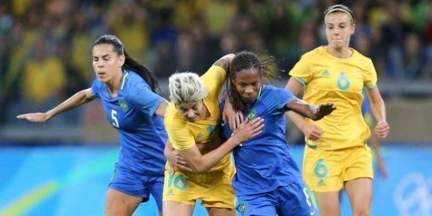 CLASSIFICADAS! Com o coração na mão, Brasil bate a