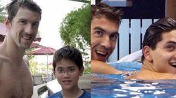 Schooling, o fã que foi melhor que Phelps oito anos depois de conhecer o